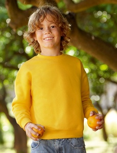 Kinder Sweater Fruit Of The Loom Kids Set in Sweatshirt